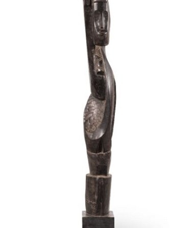 Ben Osawe (Nigerian, 1931-2007), Untitled Figure (1966)