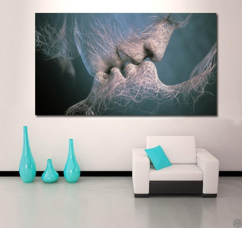 Tableau Design Invisible Kiss ArtWall And Co