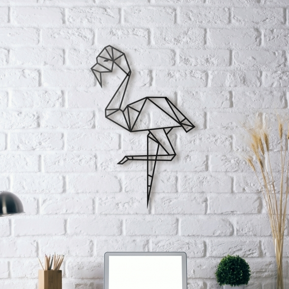 Dco Murs Mtal Flamant Rose ArtWall And Co