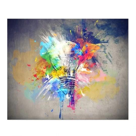 tableau design idee coloree