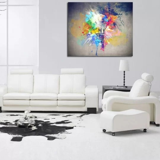 Tableau Design Idee Coloree Artwall And Co