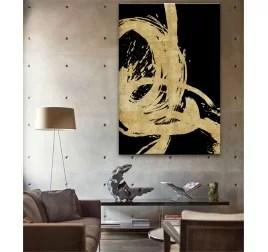 tableau peinture moderne cadre peint