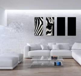 polyptyque design l oeil du zebre