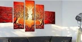 tableau peinture abstraite moderne et