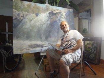 Richard Kochenash, Art Wander Artist