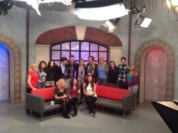 All the presenters after the final show
