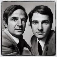 François Truffaut and Jean-Pierre Léaud, 1971 ©Richard Avedon Foundation