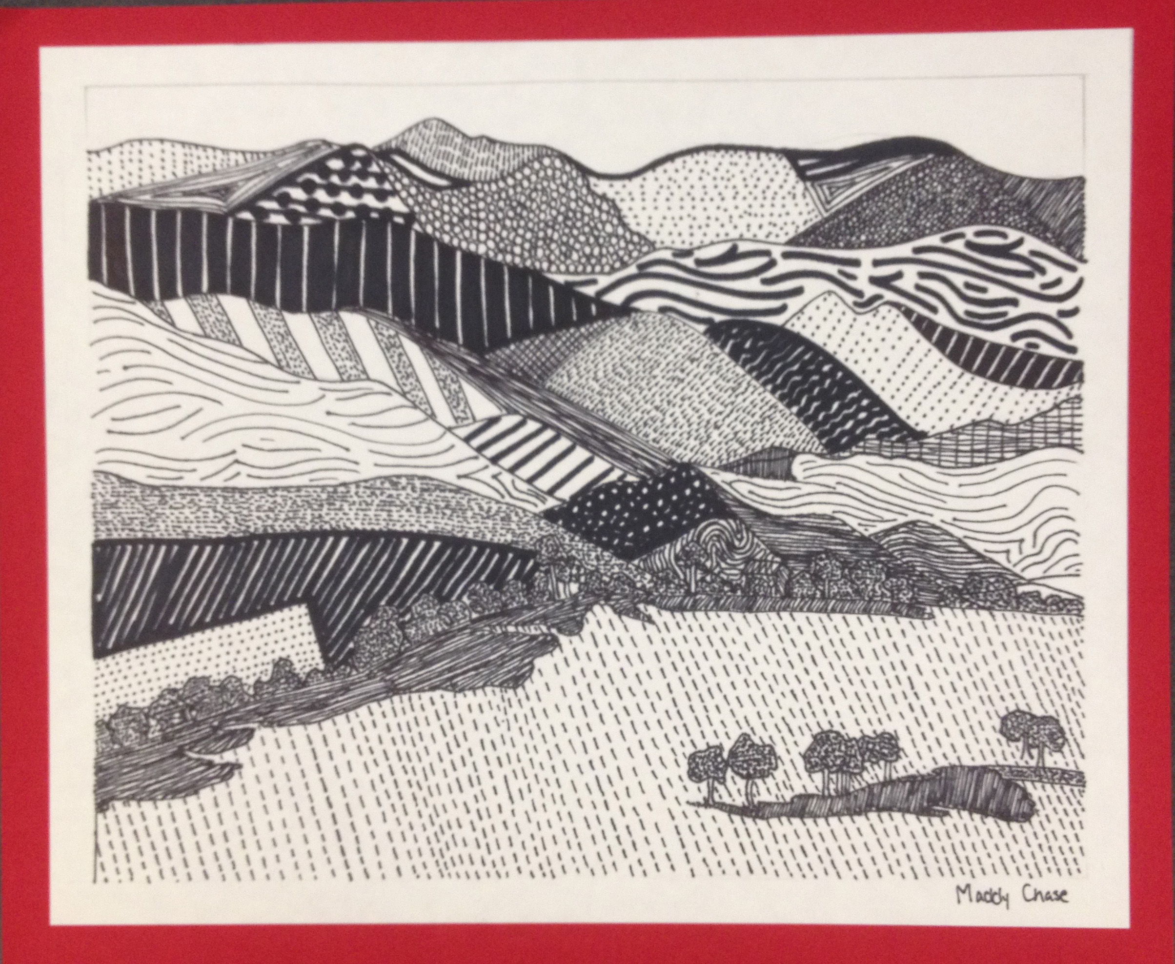 Line Landscapes From Foundations Of Art