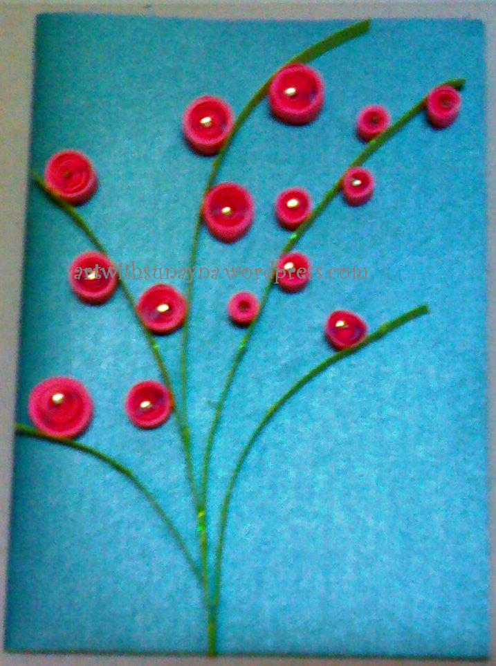 Paper Quilled Greeting Cards Art With Sunayna Page 2