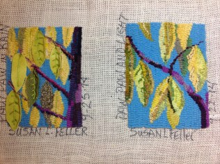 Two Paw Paw designs by Susan L. Feller 2014