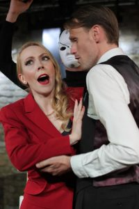 Alicia Gurney and Matthew Duncan in L'Heure Espagnole
