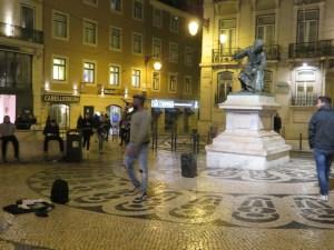 Street Rapper in Lisbon