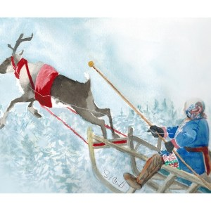 The Reindeer Driver