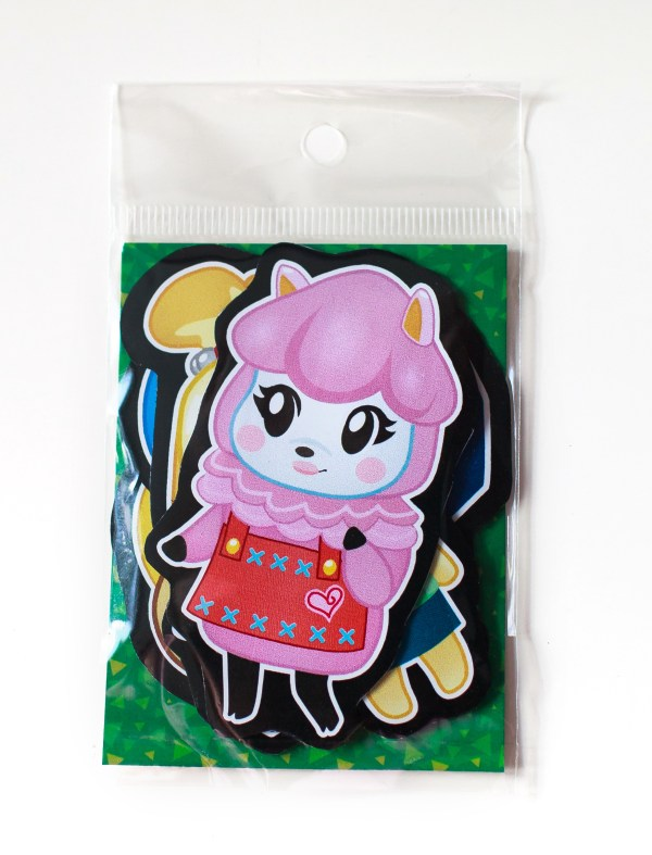 Animal Crossing Magnet Set