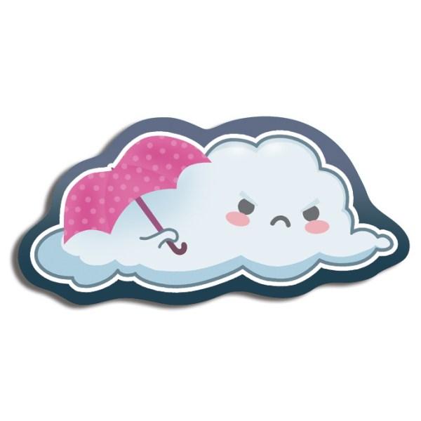 Grumpy Cloud Magnet