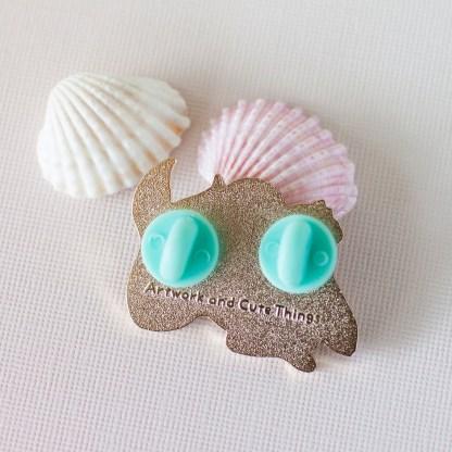 Mermaid Hard Enamel Pin