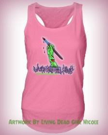 LDG Logo Tank Pink