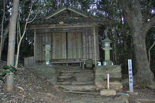 枯松キリシタン神社