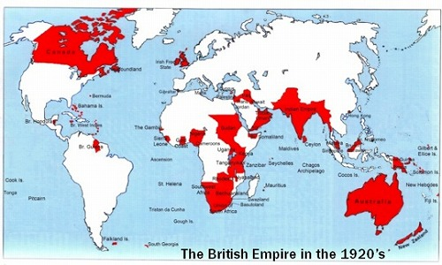 1920年の大英帝国