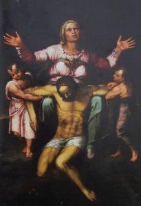 ケランジェロがヴィットーリア・コロンナに贈った「ピエタ」