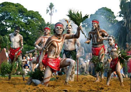 オーストラリアの原住民アボリジニ