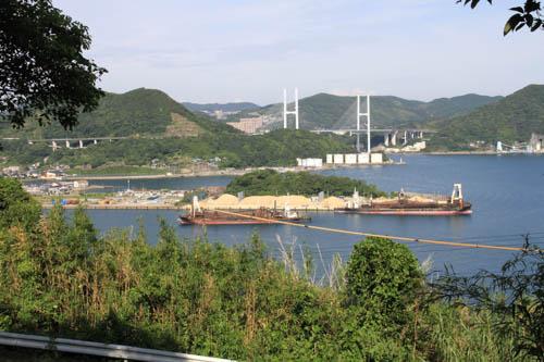 神ノ島公園からの眺望