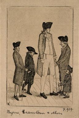 18世紀の伝説的な「アイルランドの巨人」