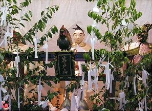 岩戸山の御神体