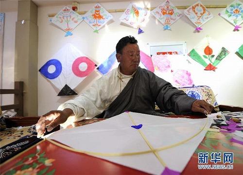 西藏(チベット)凧