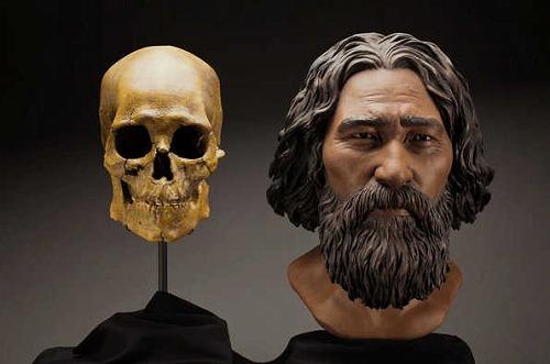 北米最古の完全な古人骨骨格ケネウィックマン