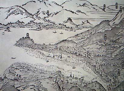 元亀開港以前の長崎