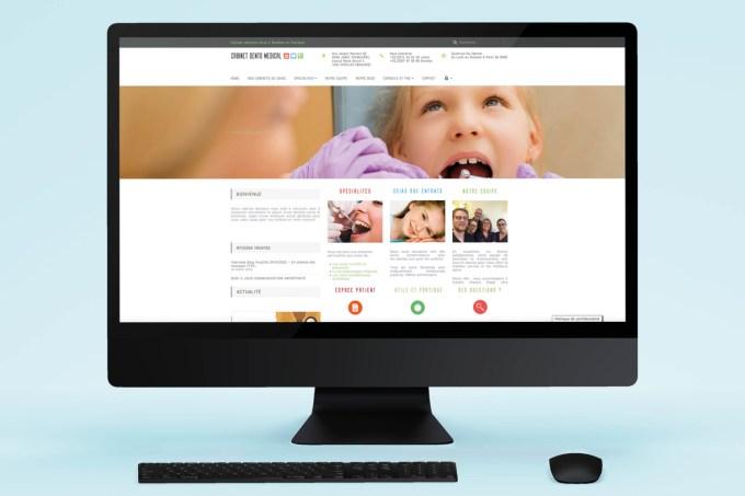 Site Web - Cabinet dento medical