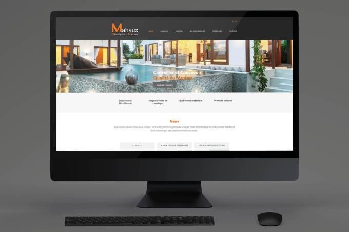 Site web - Mahaux céramique