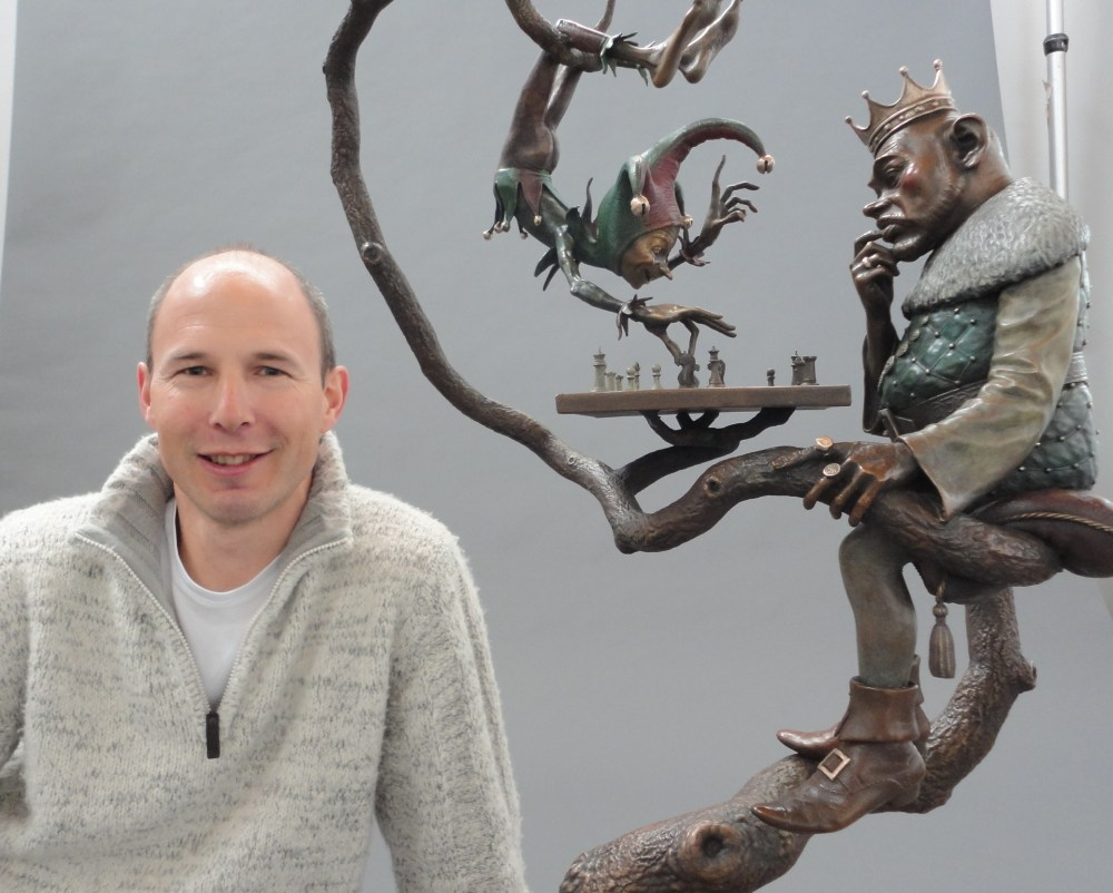 Artworks Foundry receives the artist David Goode