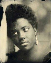 "David Prifti tintype, 8"" x 10"", Courtesy of Rice Polak Gallery, Provincetown, MA."