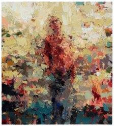 "Joshua Meyer | Building Up, 2016 | 40"" x 36'"