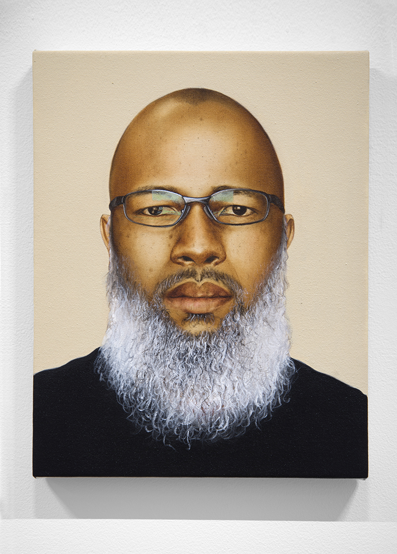 Meleko Mokgosi Untitled Self Portrait