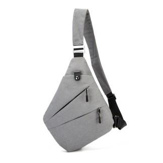 Сумка-мессенджер ArtX Style Серый #04z