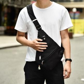 Сумка-кобура-мессенджер ArtX Style черная #003z