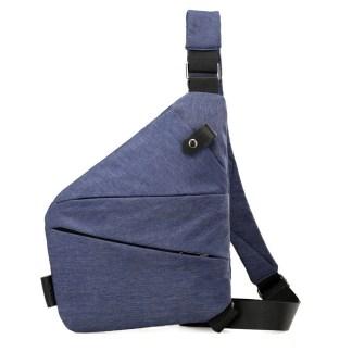 Сумка-кобура-мессенджер Cross Body Bag ArtX Style Синий #026