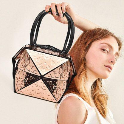 Женская сумка-трансформер ArtX F4240 Золотой #084-1