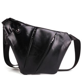Мужская сумка ArtX Style J #063-3 кожаная черная