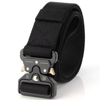 Ремень с быстроразъемной пряжкой ArtX Scorpion черный #330-1