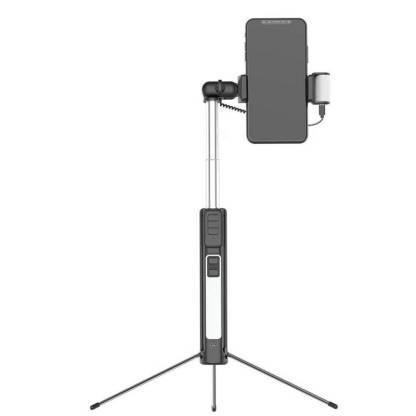 Селфи монопод-трипод ArtX A18 Bluetooth с двойным светом #531