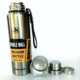 Термос ArtX JK повністю з нержавіючої сталі 0.75 літра сріблястий #450-0.75
