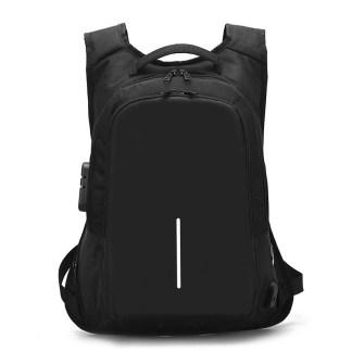 Городской рюкзак Анти-вор ArtX Fort  USB 16 л Черный #217-1