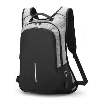 Городской рюкзак Анти-вор ArtX Fort  USB 16 л серый #217-2