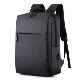 Городской рюкзак для ноутбука ArtX Minimalist-1 USB 17 л Черный #218-1