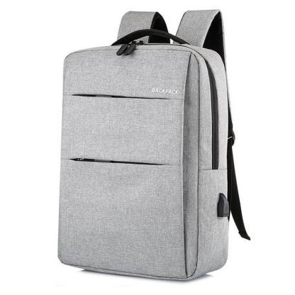 Городской рюкзак для ноутбука ArtX Minimalist-2  USB 17 л Серый #219-2