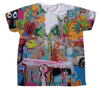 xavi garcia camiseta beatles pink